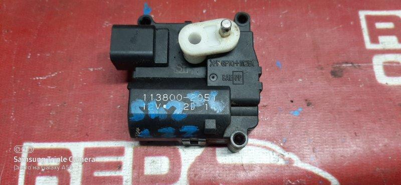 Сервопривод заслонок печки Toyota Allion ZZT245-0012123 1ZZ 2003 (б/у)