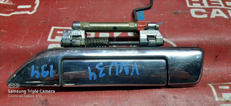 Ручка двери внешняя Nissan Presage VNU30-403567 YD25-0099504 1999 передняя левая (б/у)