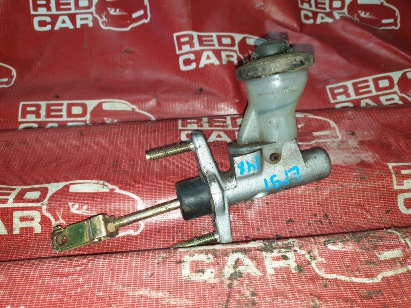 Главный цилиндр сцепления Toyota Starlet EP91-0147769 4E 1996 (б/у)