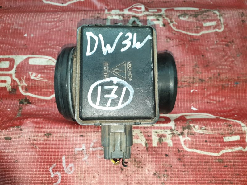 Датчик расхода воздуха Mazda Demio DW3WF-115832 B3-588838 1998 (б/у)