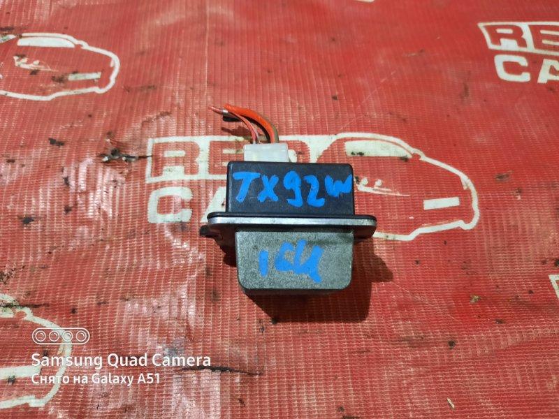 Резистор Suzuki Grand Escudo TX92W-100548 H27A 2001 (б/у)