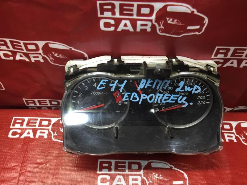 Панель приборов Nissan Note E11 HR16 (б/у)