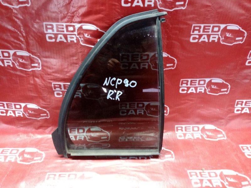 Форточка двери Toyota Vitz NCP90 задняя правая (б/у)