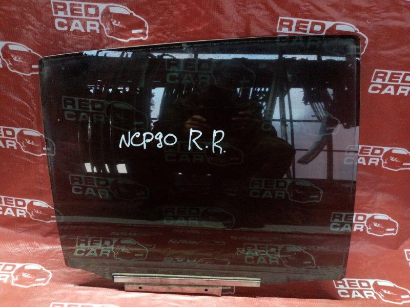 Стекло двери Toyota Vitz NCP90 заднее правое (б/у)