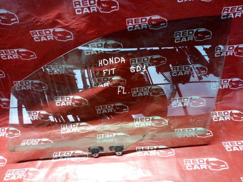 Стекло двери Honda Fit GD1 переднее левое (б/у)
