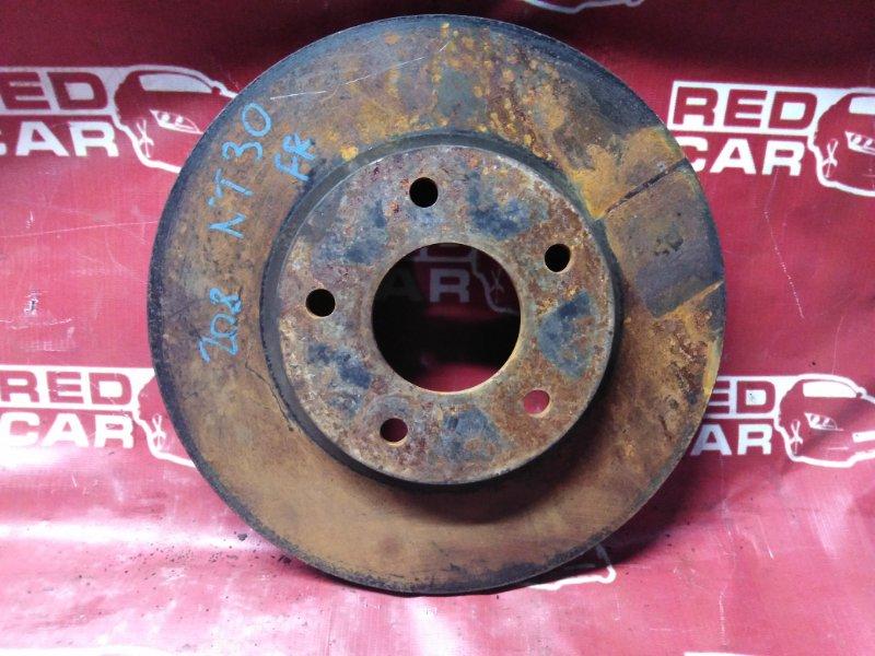 Тормозной диск Nissan X-Trail NT30-155511 QR20-588664A 2000 передний (б/у)