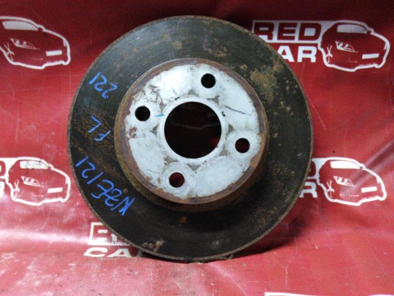 Тормозной диск Toyota Spacio NZE121-3229404 1NZ-A964237 2003 передний (б/у)