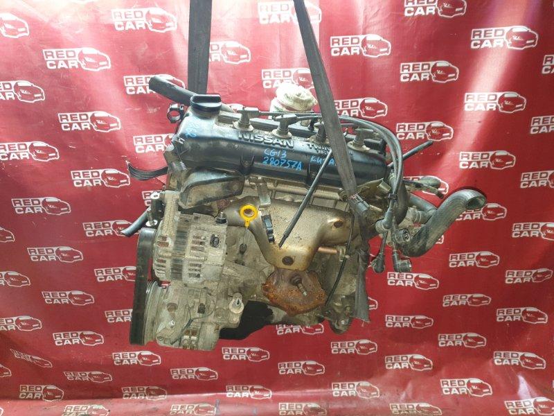 Двигатель Nissan Cube AZ10 CG13 (б/у)