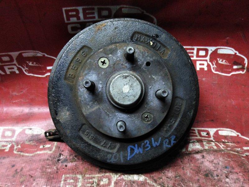Ступица Mazda Demio DW3W-147186 B3-489336 1997 задняя правая (б/у)