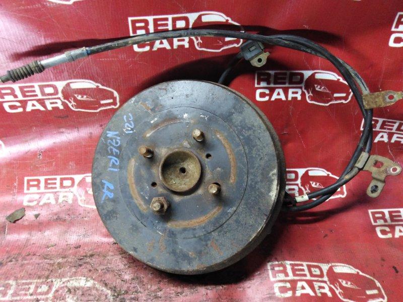 Ступица Toyota Spacio NZE121-3229404 1NZ-A964237 2003 задняя правая (б/у)