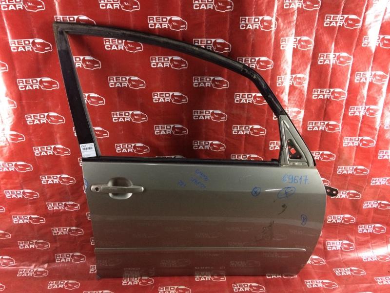 Дверь Toyota Spacio NZE121-3229404 1NZ-A964237 2003 передняя правая (б/у)