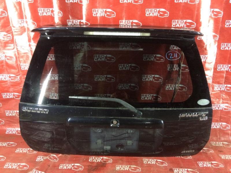 Дверь задняя Suzuki Swift HT51S-750734 M13A-1304380 2003 (б/у)