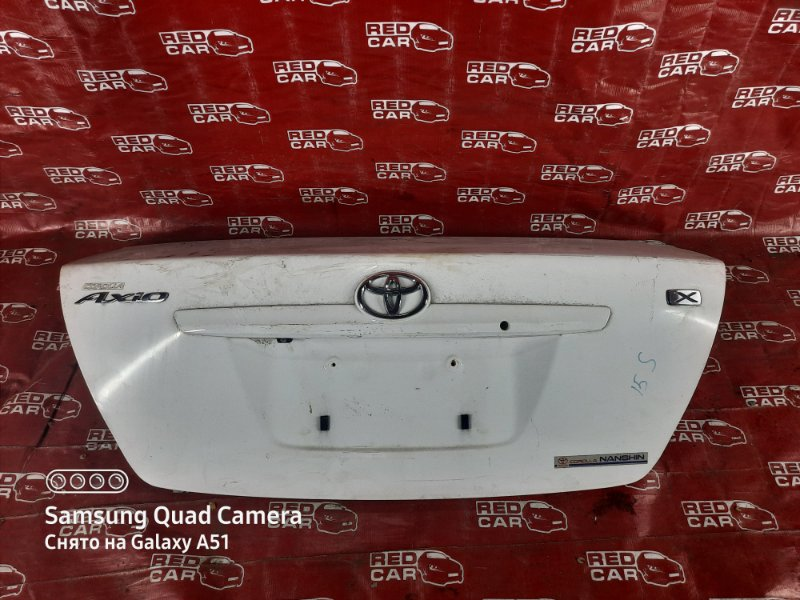 Крышка багажника Toyota Corolla Axio NZE144-6010485 1NZ 2008 (б/у)