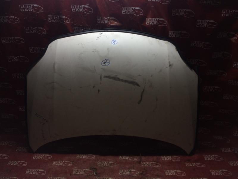 Капот Toyota Corolla Axio NZE144-6010485 1NZ-D107263 2008 (б/у)
