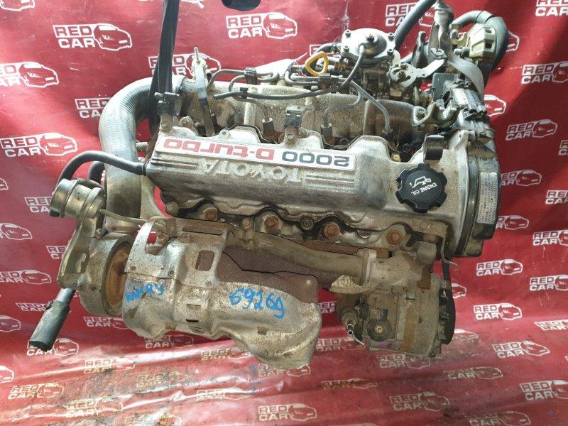 Двигатель Toyota Camry CV20 2C (б/у)