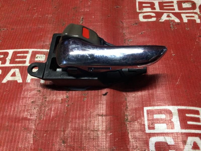Ручка двери внутренняя Toyota Crown JZS171-0019091 1JZ-6148155 2001 задняя левая (б/у)