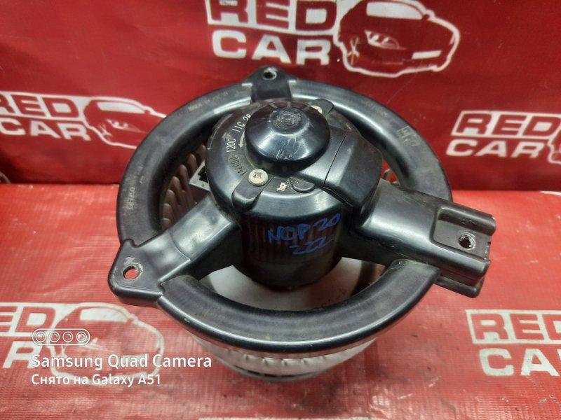 Мотор печки Toyota Funcargo NCP20-0222182 2NZ-2068157 2001 (б/у)