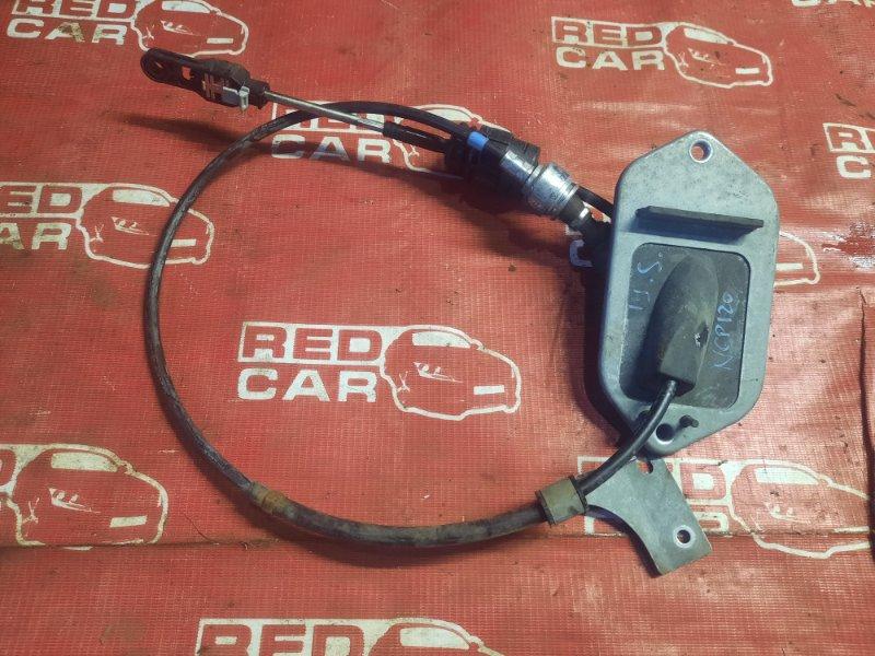 Трос переключения акпп Toyota Ractis NSP120-2009788 1NR 2011 (б/у)
