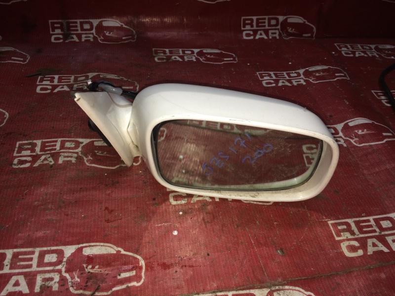 Зеркало Toyota Crown JZS171-0019091 1JZ-6148155 2001 правое (б/у)