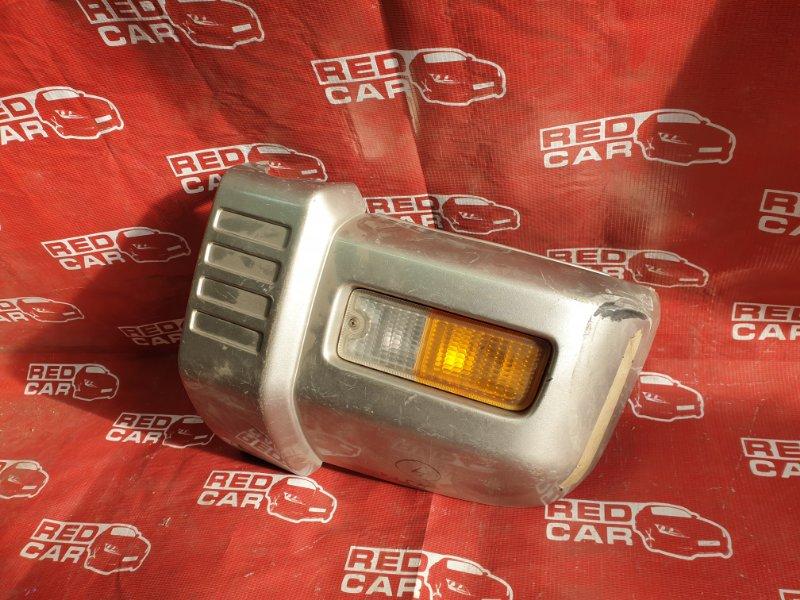Клык бампера Mitsubishi Pajero Mini H51A 4A30 передний левый (б/у)