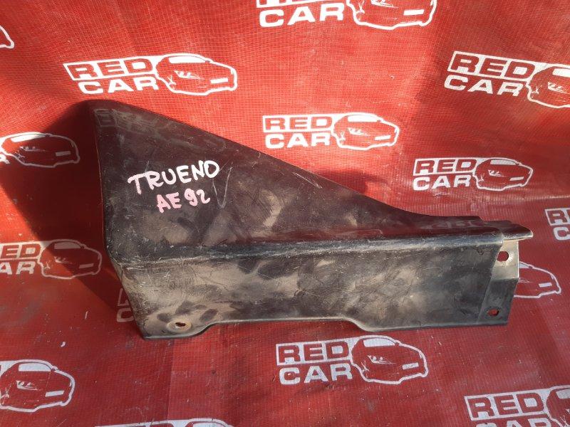 Накладка на порог Toyota Sprinter Trueno AE92 задняя правая (б/у)