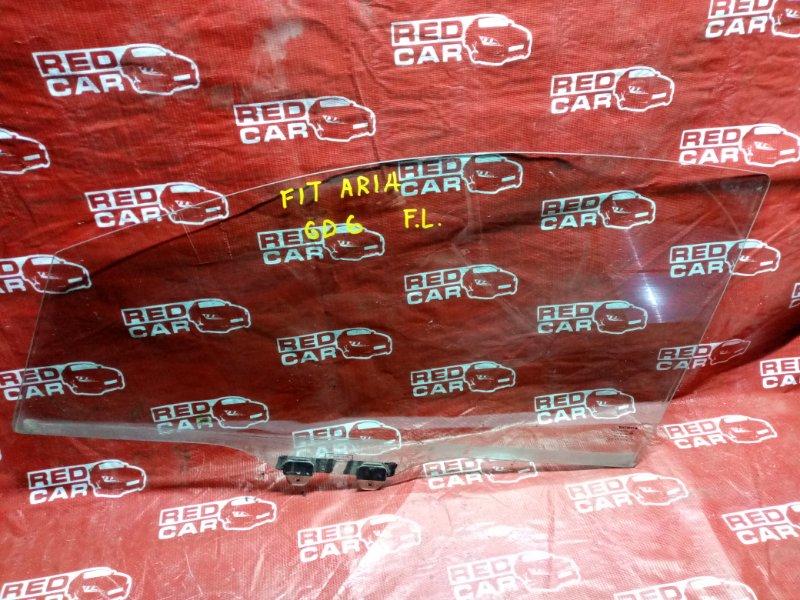 Стекло двери Honda Fit Aria GD6 переднее левое (б/у)
