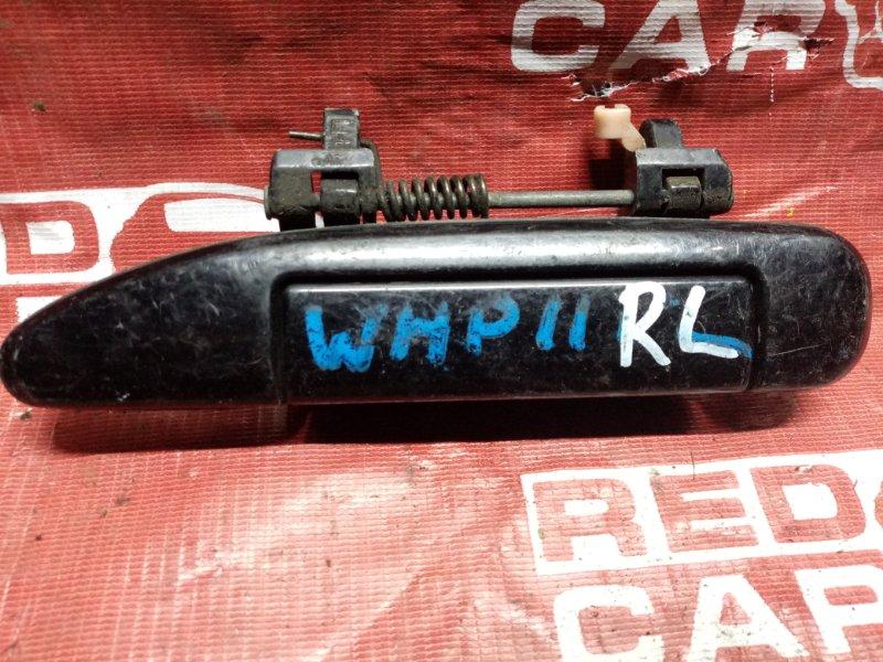 Ручка двери внешняя Nissan Primera WHP11 задняя левая (б/у)