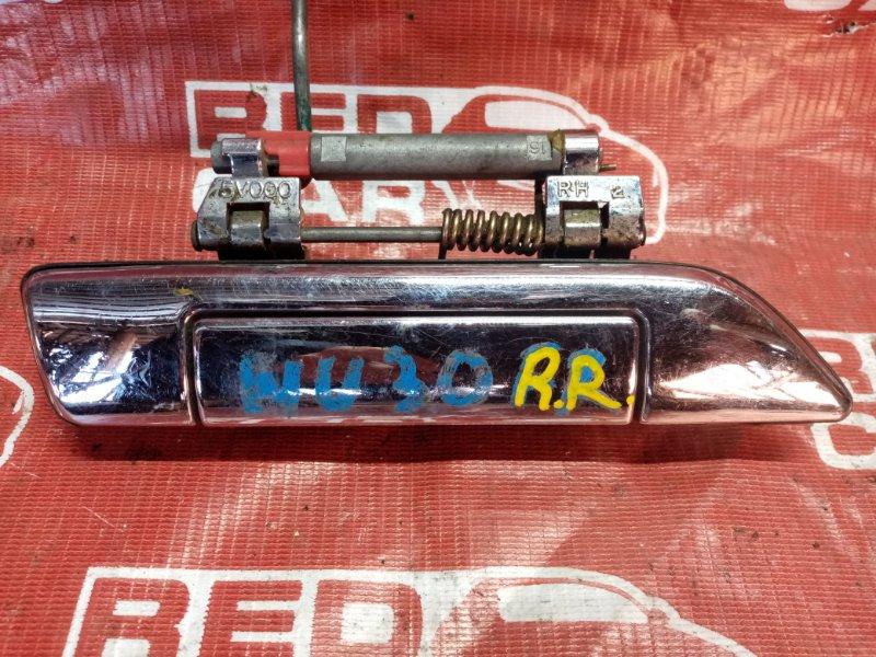 Ручка двери внешняя Nissan Presage NU30 задняя правая (б/у)