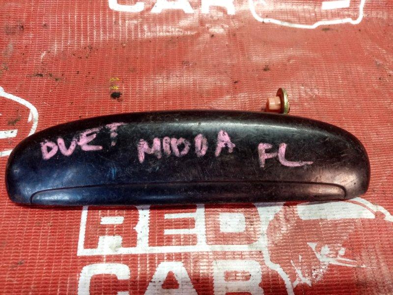 Ручка двери внешняя Toyota Duet M100A передняя левая (б/у)