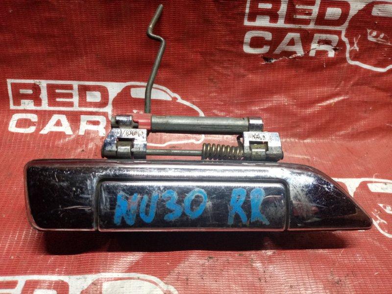 Ручка двери внешняя Nissan Bassara NU30 задняя правая (б/у)