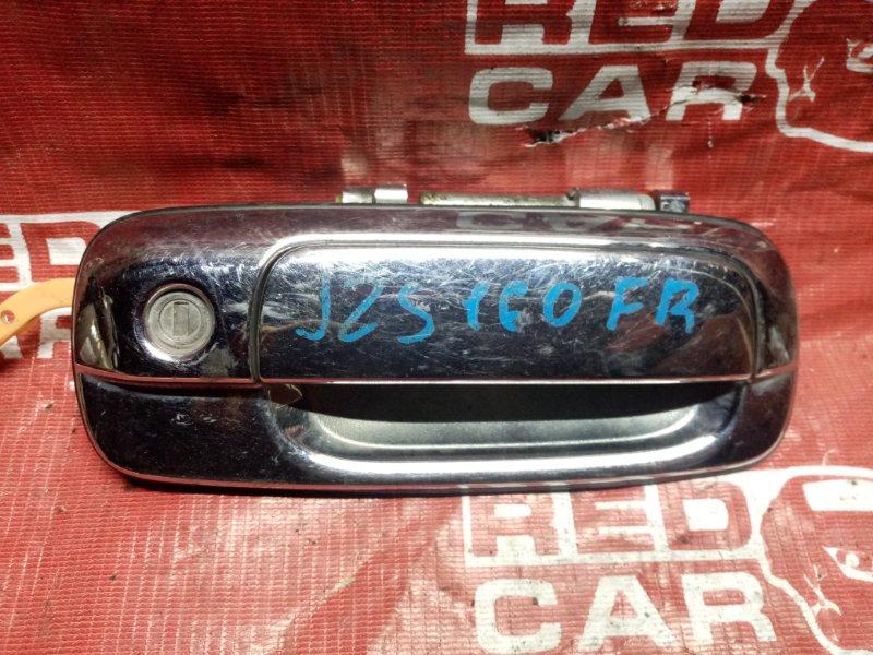 Ручка двери внешняя Toyota Crown JZS160 передняя правая (б/у)