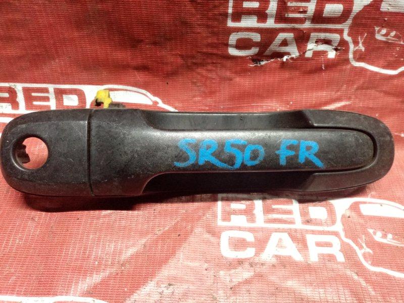 Ручка двери внешняя Toyota Noah SR50 передняя правая (б/у)