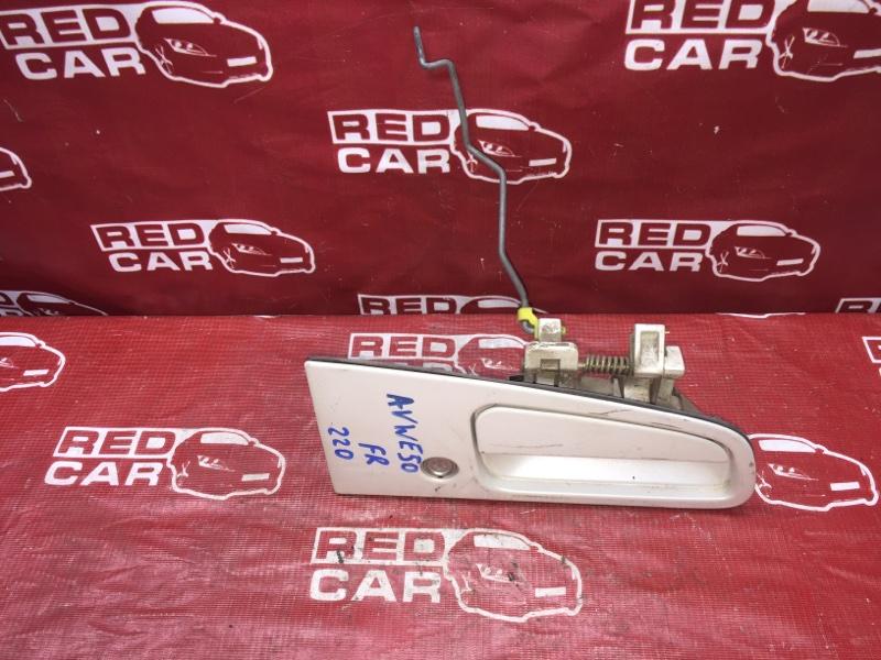 Ручка двери внешняя Nissan Elgrand AVWE50-010398 QD32 1997 передняя правая (б/у)