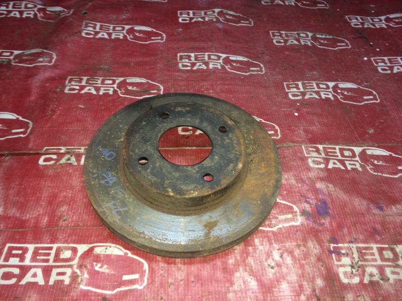 Тормозной диск Nissan Sunny FB15-382773 QG15 2003 передний (б/у)