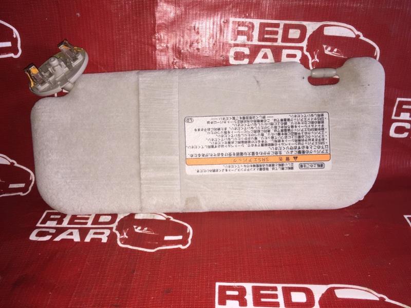 Козырек солнцезащитный Toyota Corolla Axio NZE144-6010485 1NZ 2008 правый (б/у)
