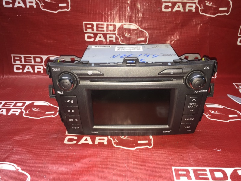 Магнитофон Toyota Corolla Axio NZE144-6010485 1NZ 2008 (б/у)