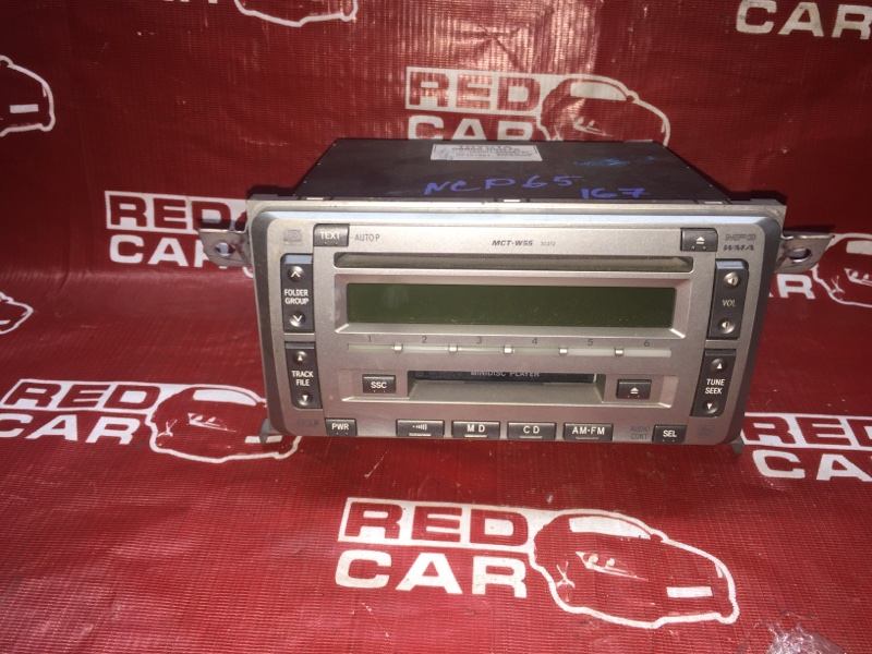 Магнитофон Toyota Ist NCP65-0012522 1NZ 2002 (б/у)