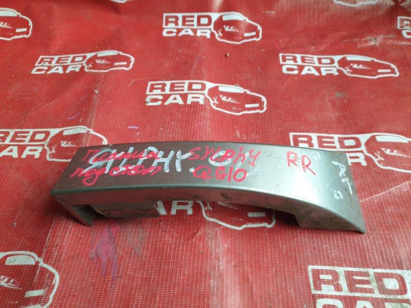 Планка под стоп Nissan Bluebird Sylphy QG10 00 задняя правая (б/у)