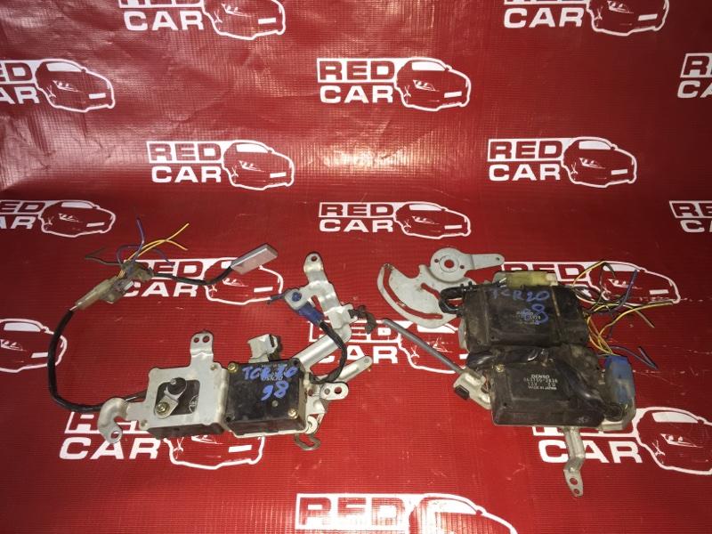 Сервопривод заслонок печки Toyota Estima TCR20-1123903 2TZ-FZE 1999 (б/у)