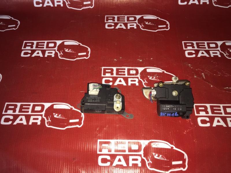 Сервопривод заслонок печки Toyota Grandhiace KCH16-0031338 1KZ-TE 2002 (б/у)