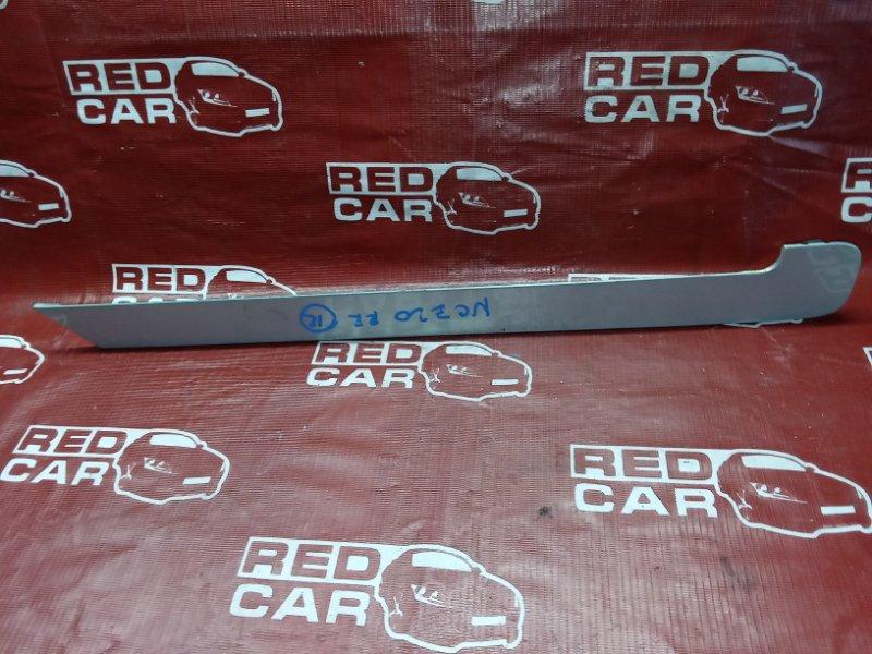 Накладка на крыло Toyota Raum NCZ20-0096263 1NZ-FE 2006 задняя правая (б/у)