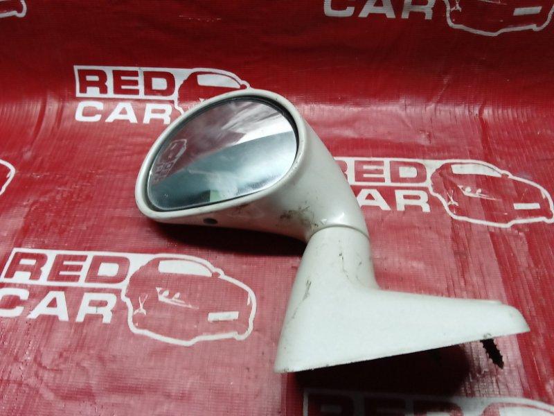Зеркало на крыло Mitsubishi Pajero Io H76W-5500231 4G93 2004 левое (б/у)
