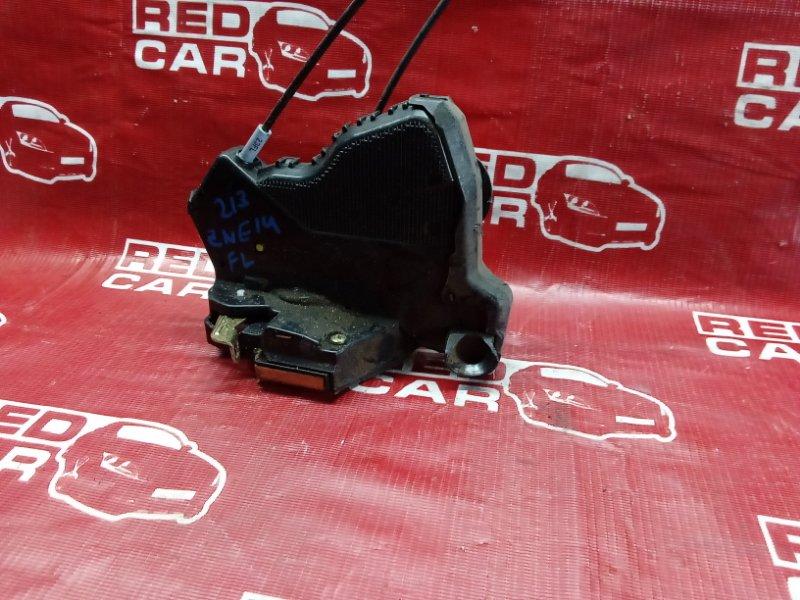 Замок двери Toyota Wish ZNE14-0009952 1ZZ-1440097 2003 передний левый (б/у)