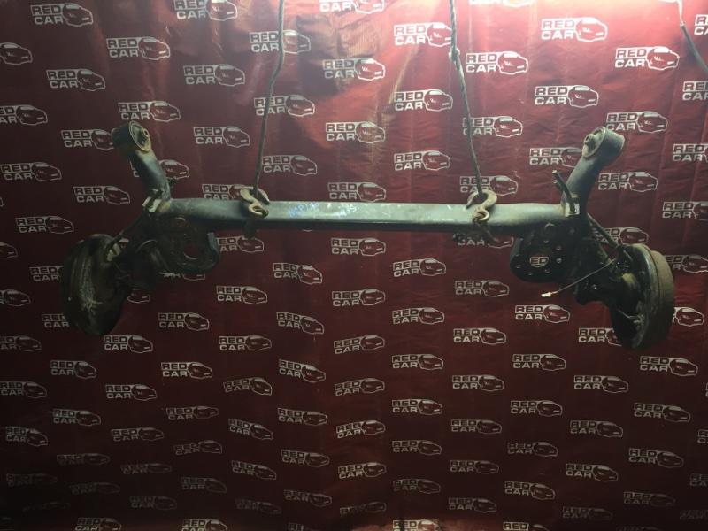 Балка подвески Toyota Ractis NSP120-2009788 1NR 2011 задняя (б/у)