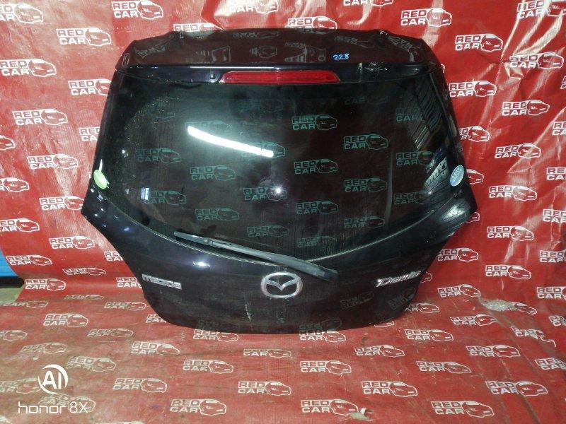Дверь задняя Mazda Demio DE3FS-176697 ZJ 2008 (б/у)
