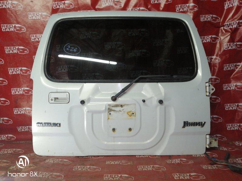 Дверь задняя Suzuki Jimny JB23W-213260 K6A 2000 (б/у)