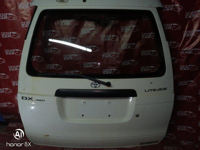 Дверь задняя Toyota Lite Ace Noah. Town Ace Noah. Noah. SR50. SR51. SR52. CR50. CR 51. CR52. (б/у)