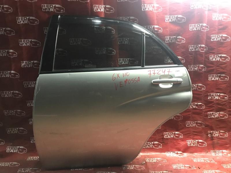 Дверь Toyota Verossa GX110 1G-FE задняя левая (б/у)