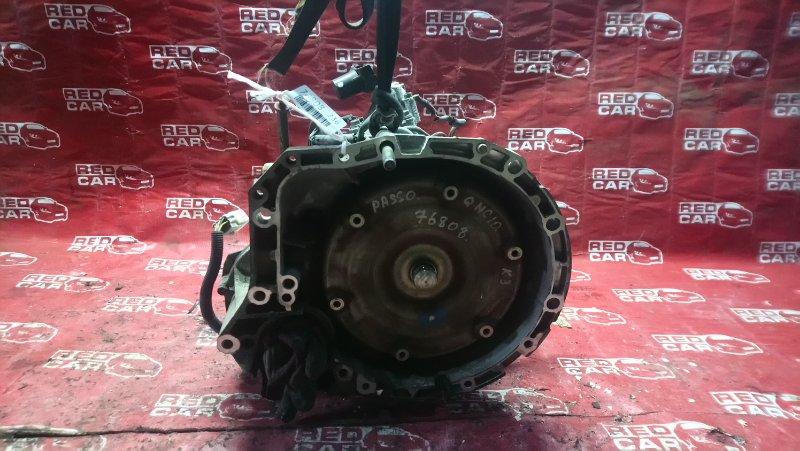 Акпп Toyota Passo QNC10-0020488 K3 2004 (б/у)