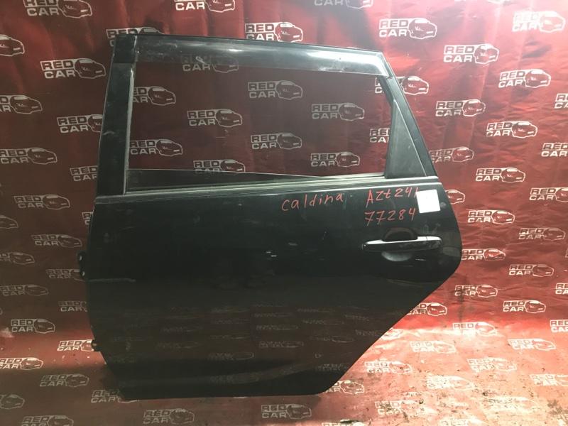 Дверь Toyota Caldina AZT241 1AZ задняя левая (б/у)